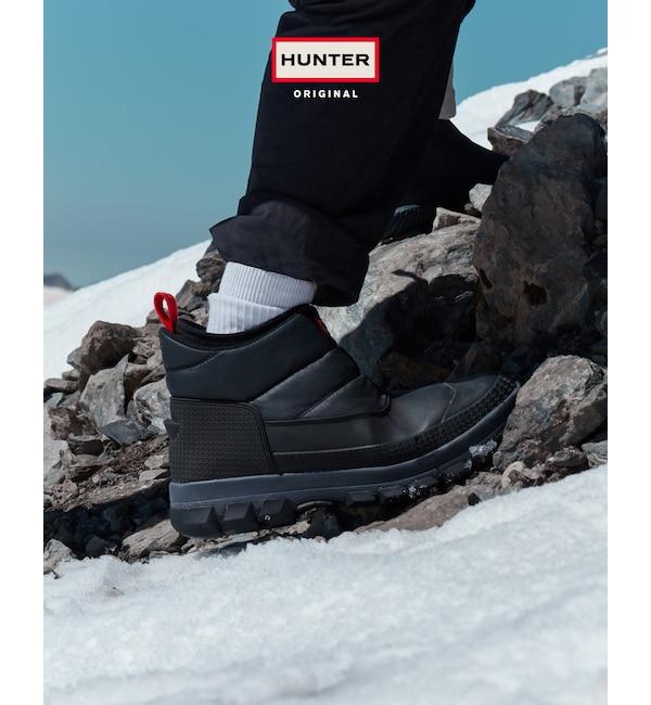 ファッションメンズなら 【ハンター/HUNTER】 【メンズ】オリジナル スノーアンクルブーツ