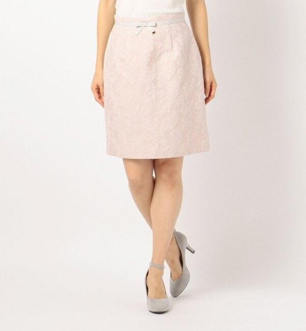 【ミッシュマッシュ/MISCH MASCH】 花柄ジャカードタイトスカート [送料無料]