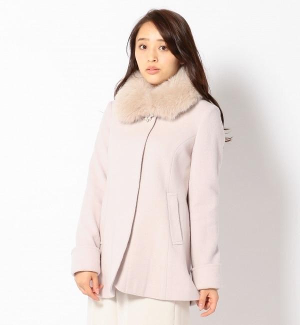 【ミッシュマッシュ/MISCH MASCH】 Aラインチュニック丈コート [送料無料]