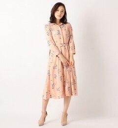 【ミッシュマッシュ/MISCH MASCH】 花柄シャツワンピース [送料無料]