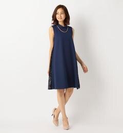 【ミューズ リファインド クローズ/MEW'S REFINED CLOTHES】 ノースリレース切替ドレス [送料無料]