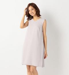 【ミューズ リファインド クローズ/MEW'S REFINED CLOTHES】 サイドプリーツドレス [送料無料]