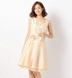 【ミューズ リファインド クローズ/MEW'S REFINED CLOTHES】 プリーツベルトリボンワンピース [送料無料]