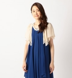 【ミューズ リファインド クローズ/MEW'S REFINED CLOTHES】 異素材ボレロ [送料無料]