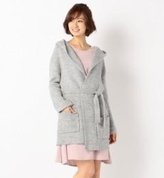【ミューズ リファインド クローズ/MEW'S REFINED CLOTHES】 フードニットカーディガン [3000円(税込)以上で送料無料]