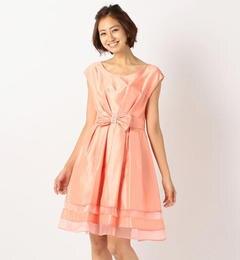 【ミューズ リファインド クローズ/MEW'S REFINED CLOTHES】 ウエストリボンドレスワンピース《結婚式/二次会/謝恩会/パーティー》 [送料無料]