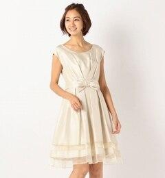 【ミューズ リファインド クローズ/MEW'S REFINED CLOTHES】 ウエストリボンドレスワンピース [送料無料]