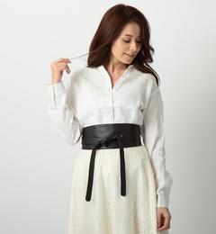 【ミューズ リファインド クローズ/MEW'S REFINED CLOTHES】 フレンチリネン2WAYシャツ [3000円(税込)以上で送料無料]