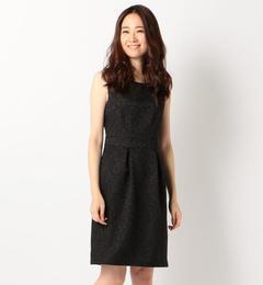 【ミューズ リファインド クローズ/MEW'S REFINED CLOTHES】 タイトジャガードドレス《結婚式/二次会/謝恩会/パーティー》 [送料無料]