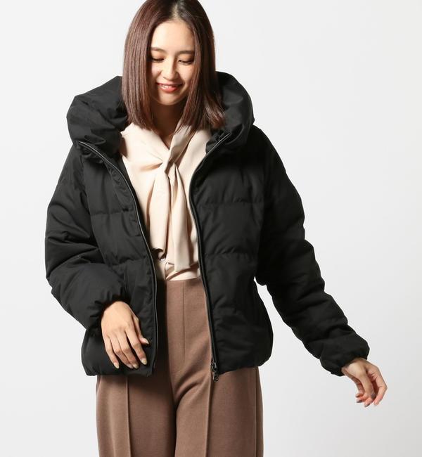 【ミューズ リファインド クローズ/MEW'S REFINED CLOTHES】 ストレッチショートダウンコート