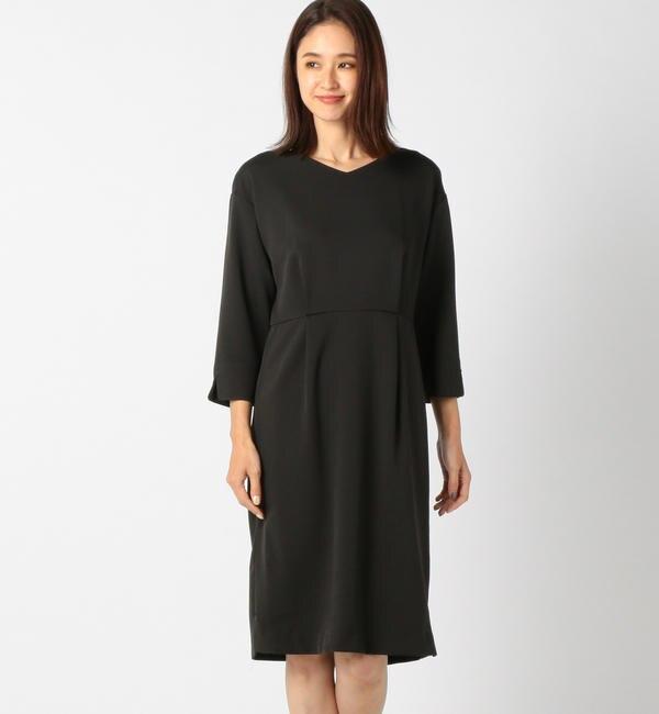 【ミューズ リファインド クローズ/MEW'S REFINED CLOTHES】 洗えるタイトワンピース