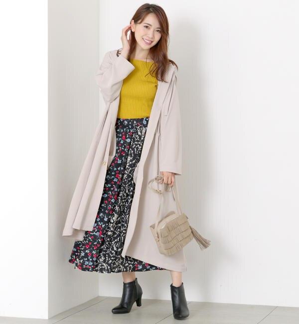 【ミューズ リファインド クローズ/MEW'S REFINED CLOTHES】 ウエストドロストロングアウター