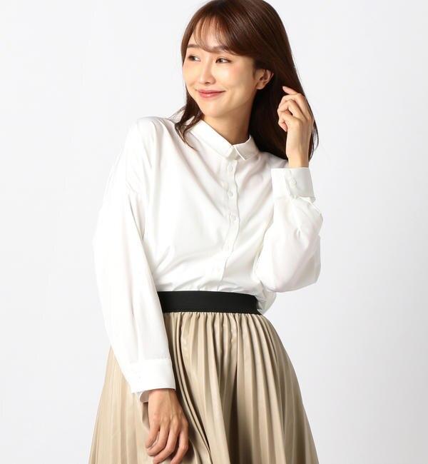【ミューズ リファインド クローズ/MEW'S REFINED CLOTHES】 とろみシャツチュニック
