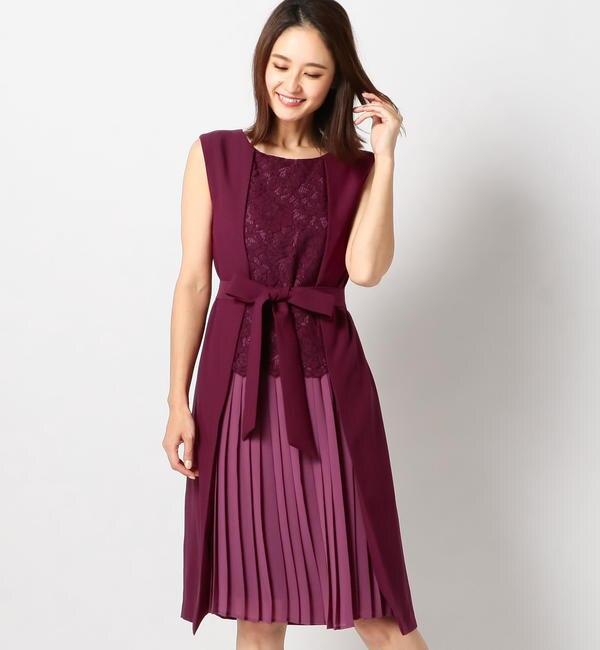 【ミューズ リファインド クローズ/MEW'S REFINED CLOTHES】 2WAYノースリーブドレス
