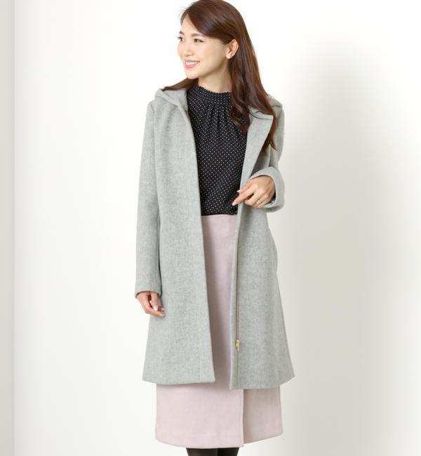 【ミューズ リファインド クローズ/MEW'S REFINED CLOTHES】 2WAYフードコート