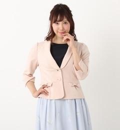 【ロディスポット/LODISPOTTO】ladyショールカラーカットジャケット[送料無料]