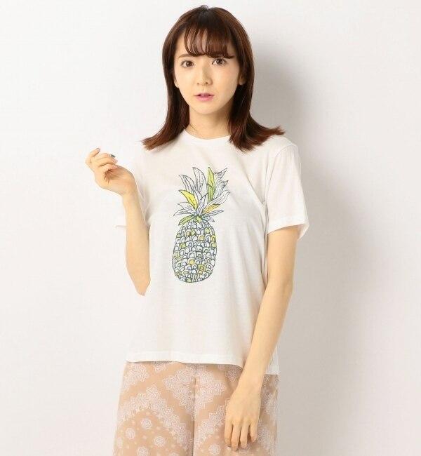【アンレリッシュ/UNRELISH】 パイナップルTシャツ [3000円(税込)以上で送料無料]