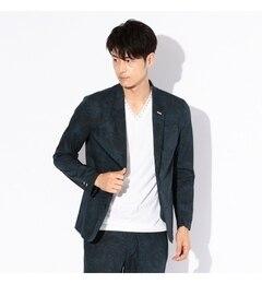 【ギルドプライム/GUILD PRIME】 【LOVELESS】MENS ボタニカルシャツジャケット [送料無料]