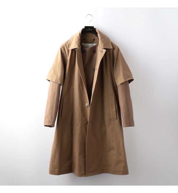 【ギルドプライム/GUILD PRIME】 【08sircus】MENS cotton x flannel detachable coat / S16AM-CO04 [送料無料]