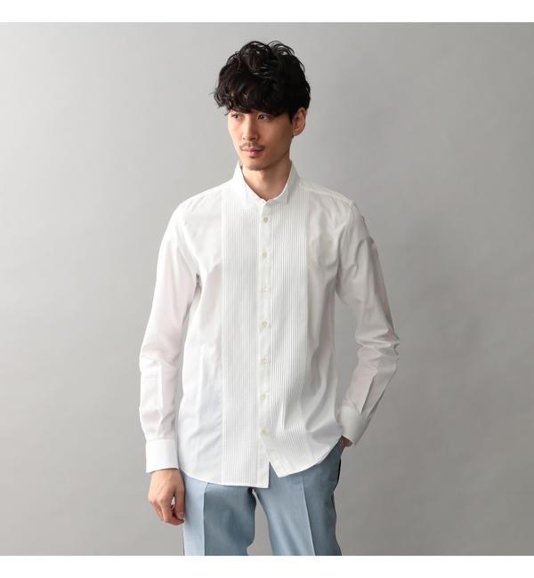 【ギルドプライム/GUILD PRIME】 【Education from Youngmachines】MENS フロントタックウィングカラーシャツ