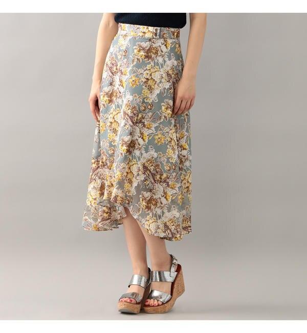 【ラブレス/LOVELESS】 【LOVELESS】オパールフラワーフリルスカート