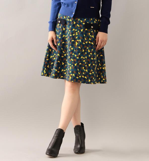 【ラブレス/LOVELESS】 【LOVELESS】ハートプリントフレアスカート