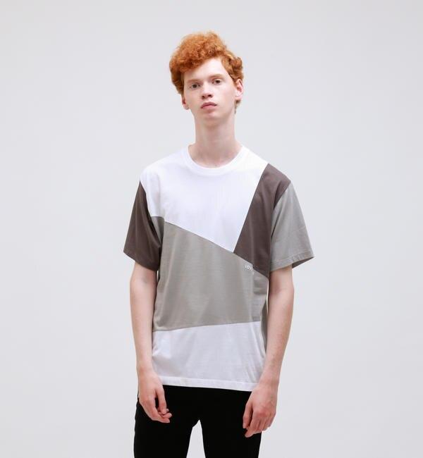 【ラブレス/LOVELESS】 ブロッキングTシャツ