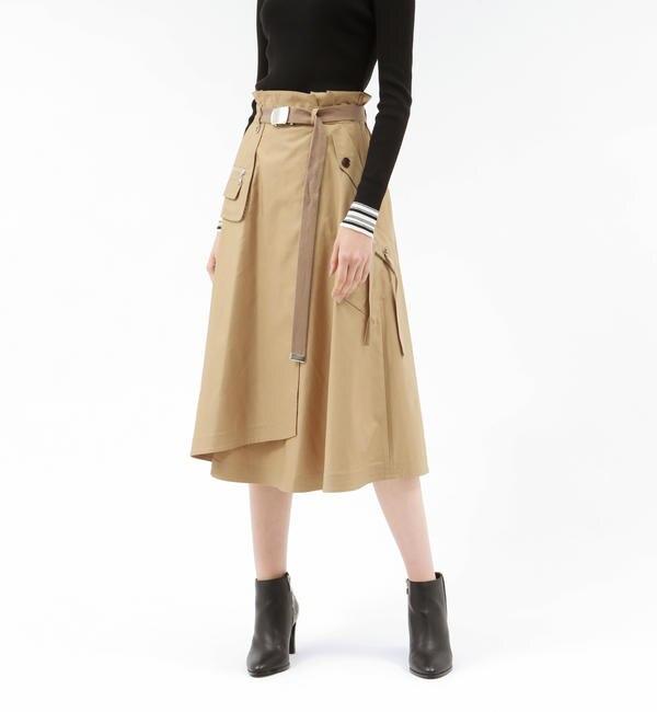 【ラブレス/LOVELESS】 ワークポケット タスラン スカート