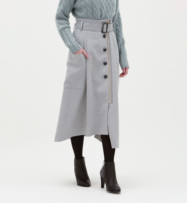 【ラブレス/LOVELESS】 フロントファスナースカート