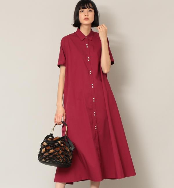 【エポカ ザ ショップ/EPOCA THE SHOP】 【EPOCA THE SHOP】フロントボタンシャツドレス