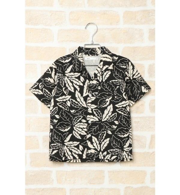 【イッカ/ikka】 【親子リンク】【キッズ】アロハオープンカラーシャツ