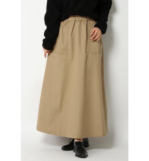 【イッカ/ikka】 【Dickies】ディッキーズ TCツイルバックインバーテッドスカート