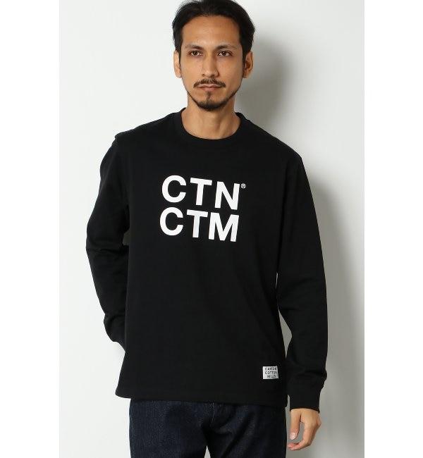 【イッカ/ikka】 CCM ロゴプリントTシャツ