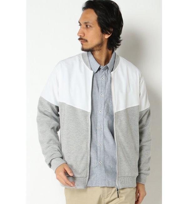 【イッカ/ikka】 切り替えコンビジップジャケット