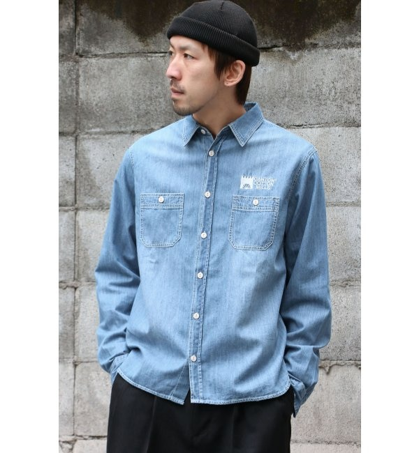 【イッカ/ikka】 CANTON COTTON MILLS ワークシャツ