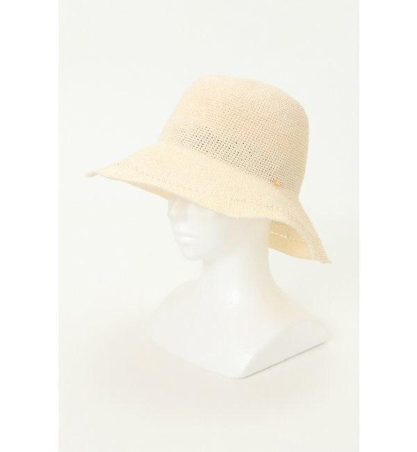 【イッカ/ikka】 透かし編みハット