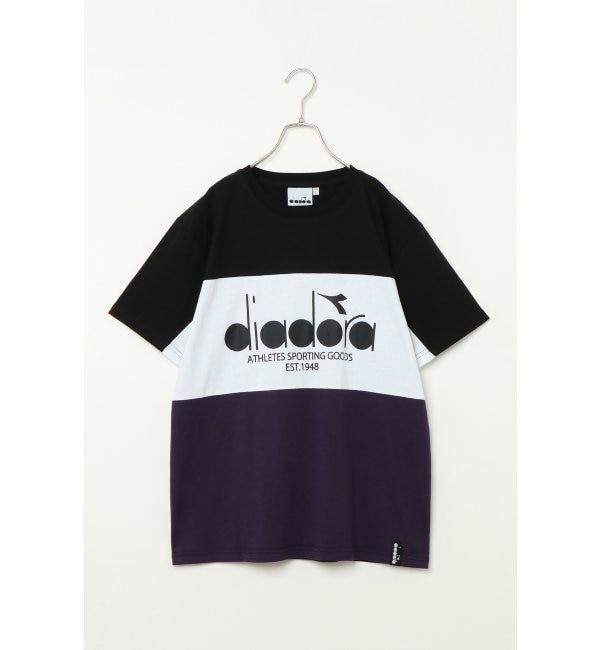 【イッカ/ikka】 DIADORA ディアドラ ブロッキングTシャツ