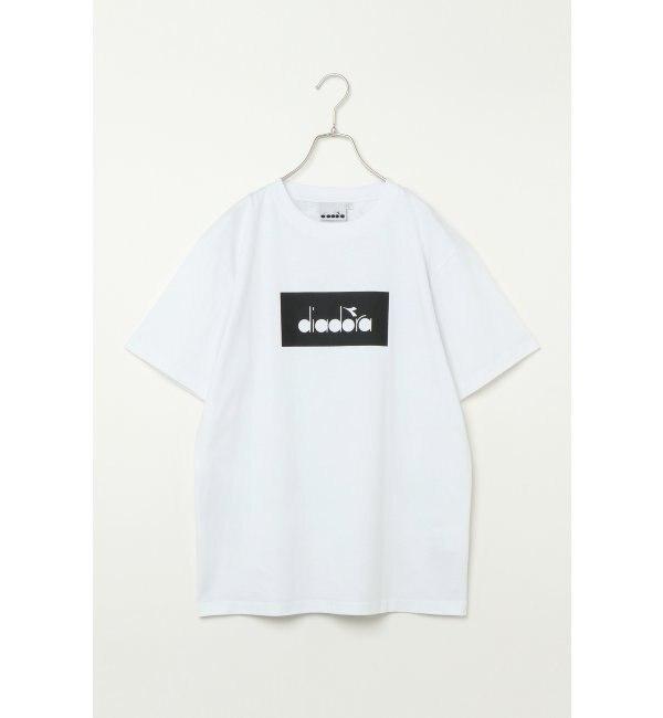 【イッカ/ikka】 DIADORA ディアドラ ボックスロゴTシャツ