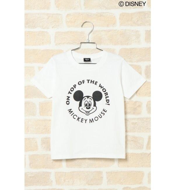 【イッカ/ikka】 【キッズ】親子リンクDISNEYTシャツ(110~130cm)
