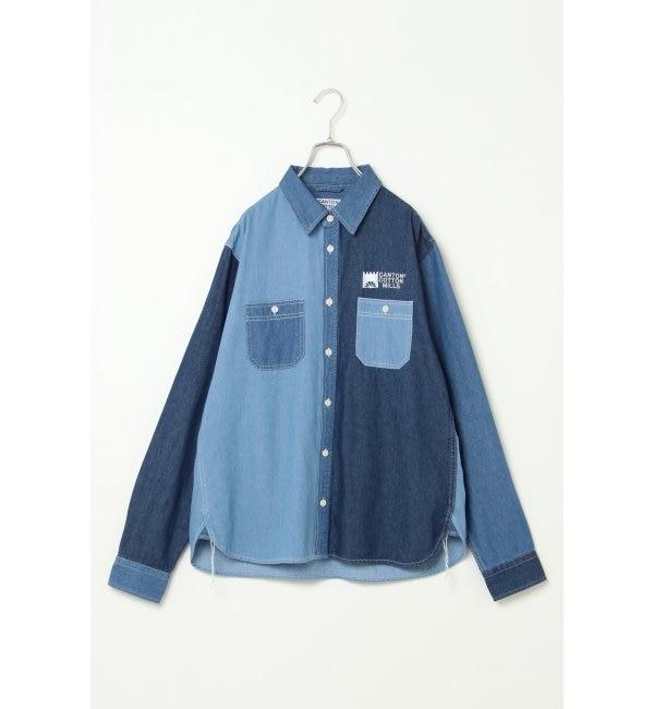 【イッカ/ikka】 CANTON COTTON MILLS クレイジーシャツ