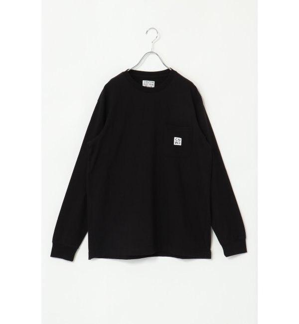 【イッカ/ikka】 CANTON COTTON MILLS ポケットTシャツ