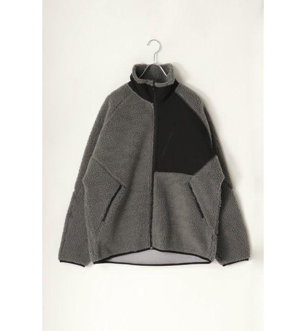 【イッカ/ikka】 ボンディングボアフリースジャケット