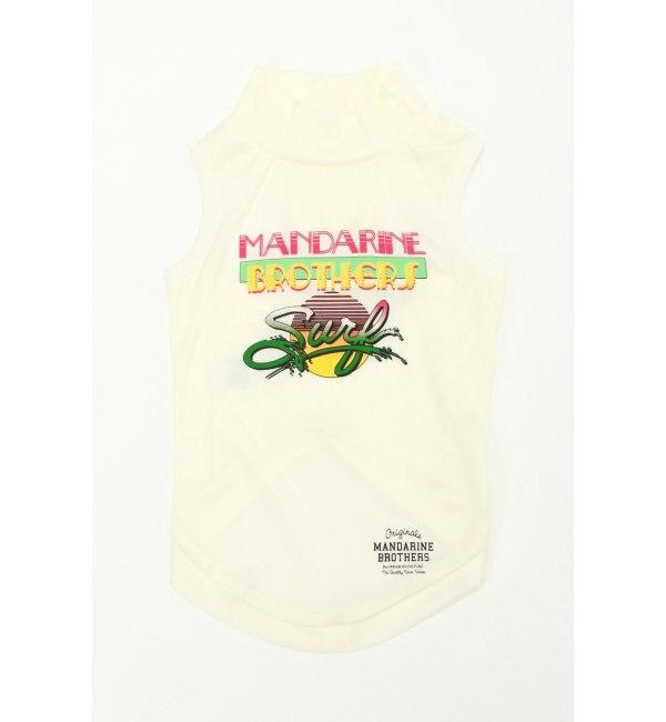 【エルビーシーウィズライフ/Lbc with Life】 【WEB限定】Mandarine Brothers HI-FI Tシャツ