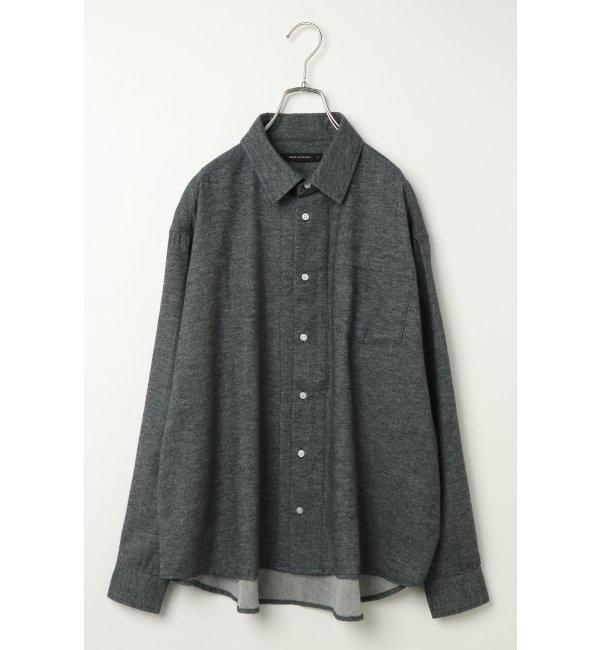【ヴァンスシェアスタイル/VENCE share style】 オーバーサイズシャツ