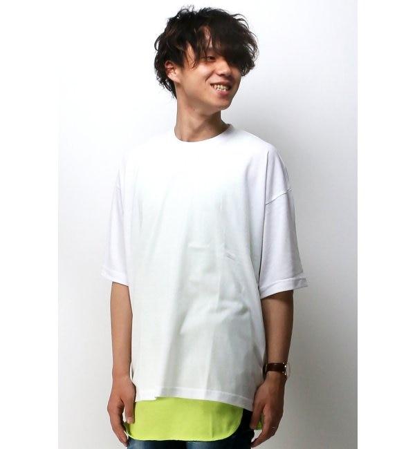 【ヴァンスシェアスタイル/VENCE share style】 BIGTシャツタンクアンサンブル