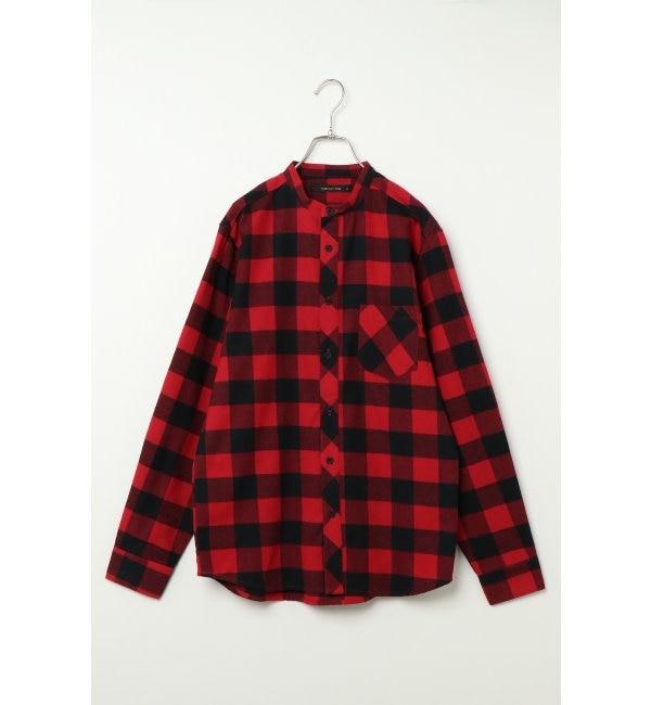 【ヴァンスシェアスタイル/VENCE share style】 チェックシャツ