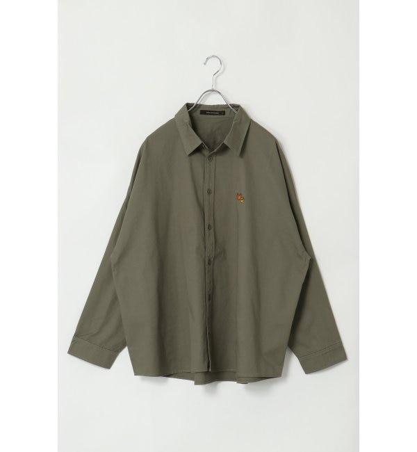 【ヴァンスシェアスタイル/VENCE share style】 Mark Gonzales マークゴンザレス バックプリントシャツ