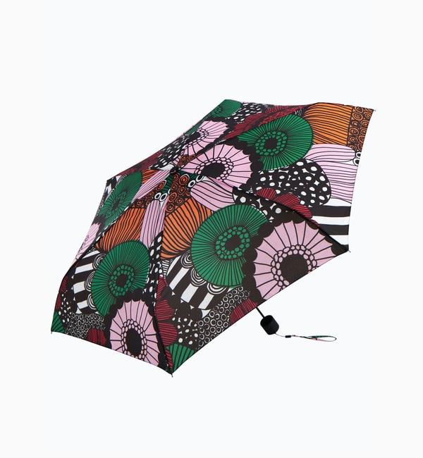 【マリメッコ/Marimekko】 【オンラインストア限定】Siirtolapuutarha 折りたたみ傘