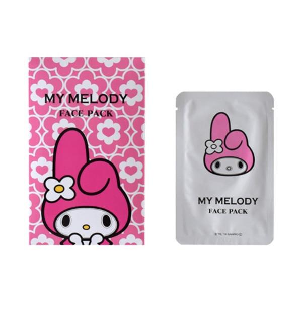 【アットコスメストア オンライン/@cosme store online】 MY MELODYなりきりフェイスパック [3000円(税込)以上で送料無料]