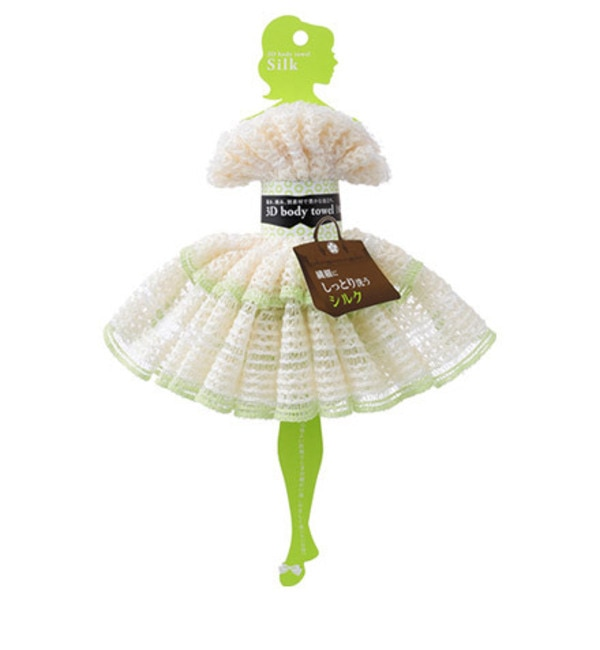 【アットコスメストア オンライン/@cosme store online】 3Dボディタオル・シルク [3000円(税込)以上で送料無料]